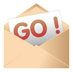 Courrier, email, message, invitation, enveloppe, dynamique