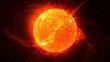 Sun on Fire (HD Animation Loop)