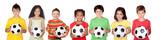 Fototapety Soccer team