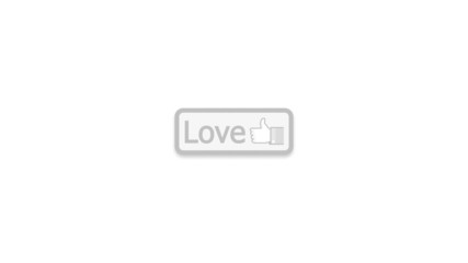 Like, Love & Hate Buttons (Touch Screen)