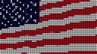 American Flag LED Dots