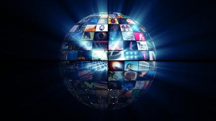 Video Sphere (HD Loop)