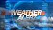 Weather Alert - Broadcast Graphics Title