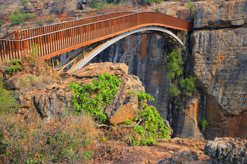 Bourke's Luck bridge, South Africa