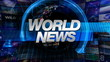 World News - Broadcast Graphics Title