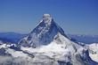 Luftaufnahme - Matterhorn-Nordwand