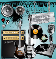 Rock Music Equipment