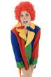 Clown vermisst Hose