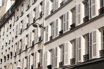 Immeuble parisien de Montmartre