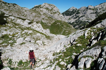 Durmitor National Park mountains, Montenegro