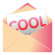 Courrier, email, message, invitation, enveloppe, cool, zen