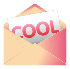 Courrier, email, message, invitation, enveloppe, cool, zen