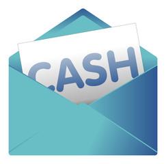 Courrier, email, message, invitation, enveloppe, cash, argent