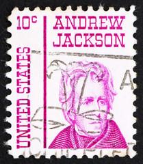 Postage stamp USA 1967 Andrew Jackson