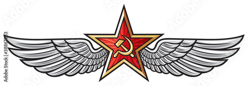 ussr star and wings