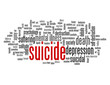 """SUICIDE"" Tag Cloud (depression death despair nervous breakdown)"