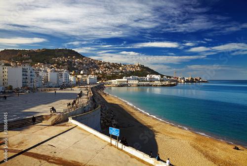 Fotobehang Algerije Algiers the capital city of Algeria