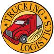 trucking - logistics symbol