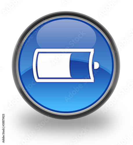 Battery Glossy Icon