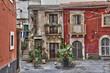 Façades anciennes à Syracuse - Sicile, Italie