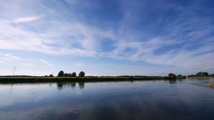 Fluss Zeitraffer