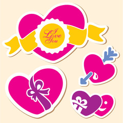 Valentine day heart. I love you