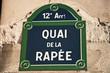 quai de la rapée à Paris 12ièm