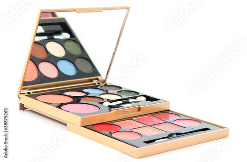 Makeup Set isolated