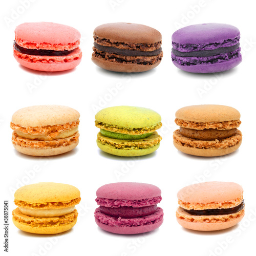photo store enrouleur imprim personnalis macarons. Black Bedroom Furniture Sets. Home Design Ideas