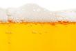 Leinwandbild Motiv Close up of beer bubbles