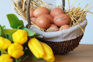 Joyeuses pâques campagne