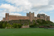 Bamburgh Castle, Northumberland, from the West