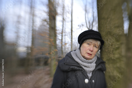 Depressed Senior Woman 7