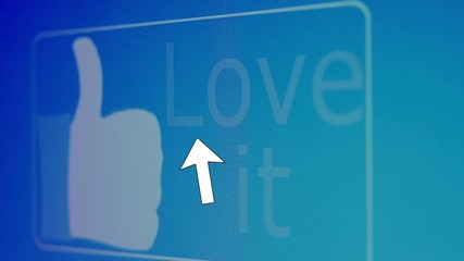 Love IT Button - clicked