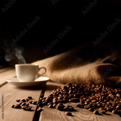 Fototapeten,kaffee,expressotasse,flavour,scharf essen