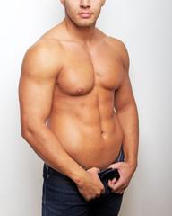 Image of sexy man torso