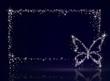 キラキラバタフライフレーム(アゲハ蝶)
