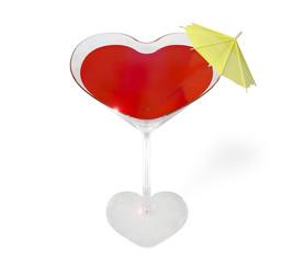 Glass - heart