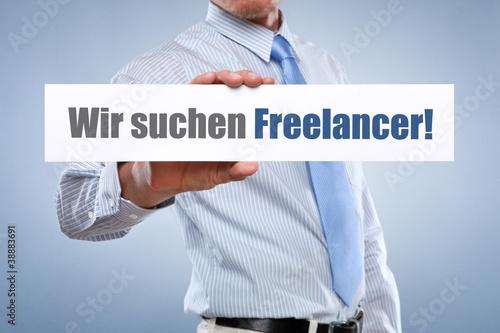 Wir suchen Freelancer