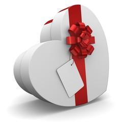 Cadeaux en forme de cœur
