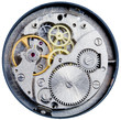 mechanism of old mechanical watch