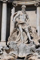 Statua del Dio Oceano, Fontana di Trevi, Roma