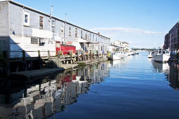 docks and boats