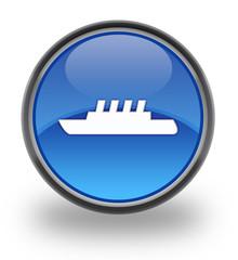 Ship Glossy Button