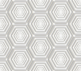 Seamless abstract background hexagon texture