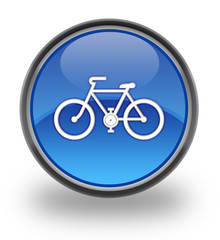Bicycle Glossy Button