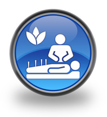 Alternative Medicine Glossy Button
