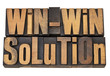 win-win solution in letterpress