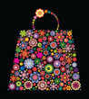 Fashion bag of flowers I