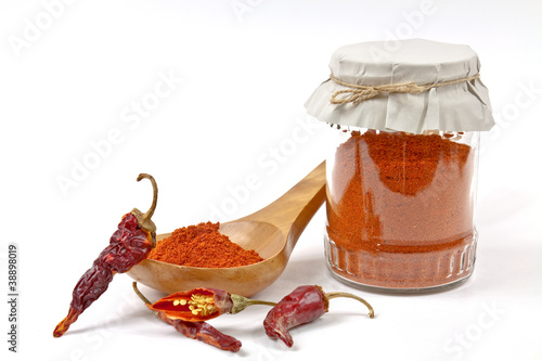 Dried chillies - 38898019